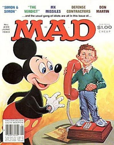 Cover for MAD (EC, 1952 series) #239