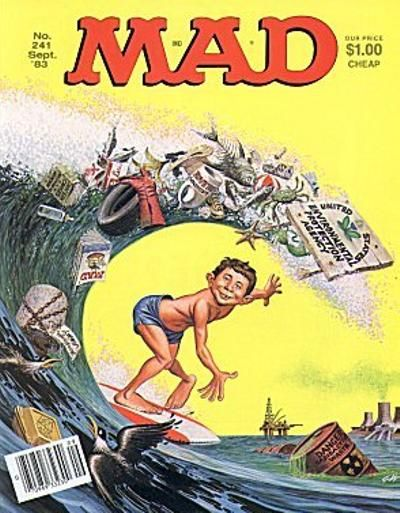 Cover for MAD (EC, 1952 series) #241