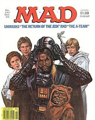 Cover for MAD (EC, 1952 series) #242