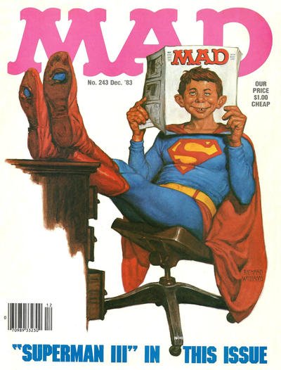 Cover for MAD (EC, 1952 series) #243
