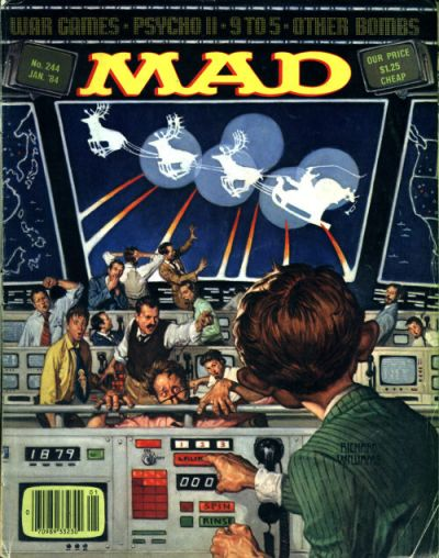 Cover for MAD (EC, 1952 series) #244