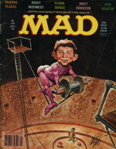 Cover for MAD (EC, 1952 series) #246