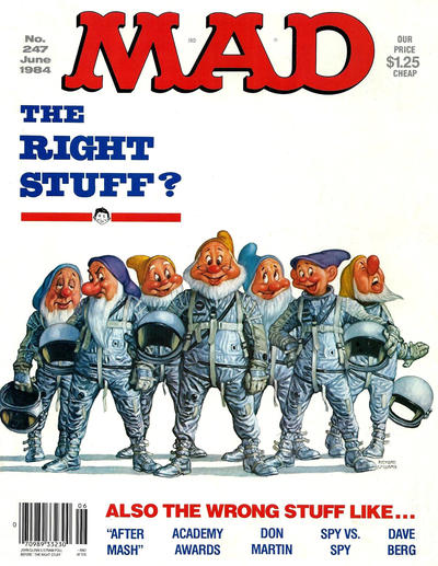 Cover for MAD (EC, 1952 series) #247