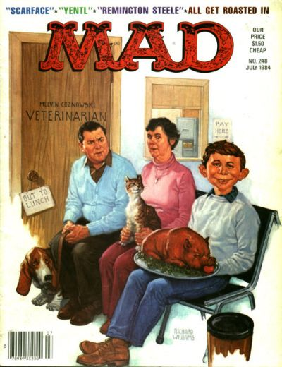 Cover for MAD (EC, 1952 series) #248