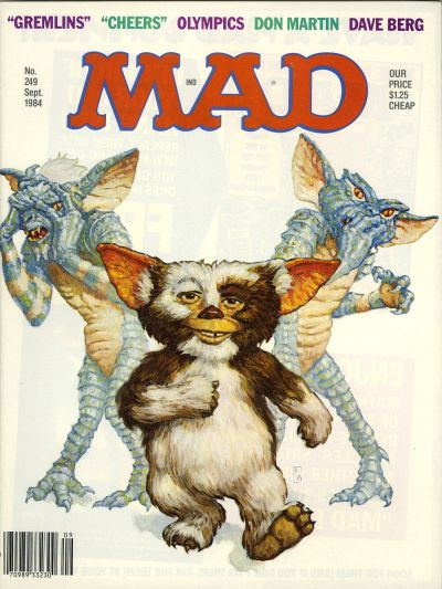 Cover for MAD (EC, 1952 series) #249