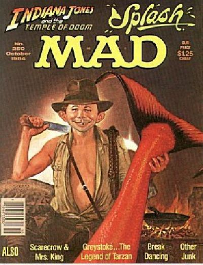 Cover for MAD (EC, 1952 series) #250