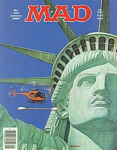 Cover for MAD (EC, 1952 series) #252