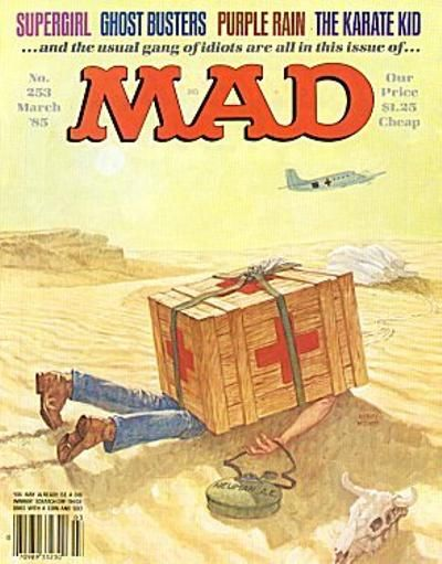 Cover for MAD (EC, 1952 series) #253