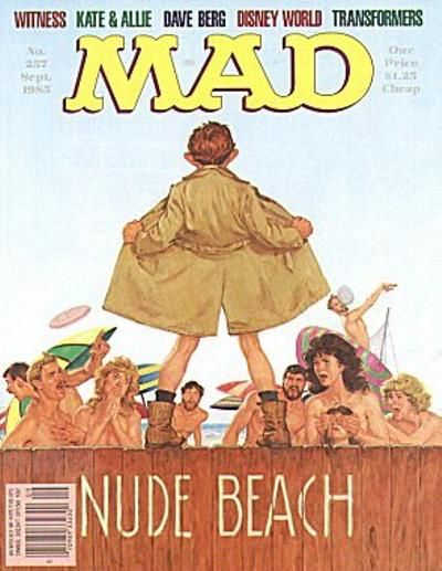 Cover for MAD (EC, 1952 series) #257