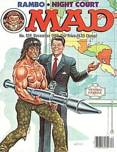 Cover for MAD (EC, 1952 series) #259
