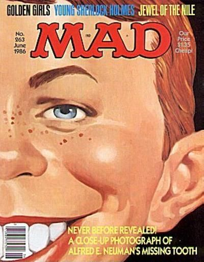 Cover for MAD (EC, 1952 series) #263