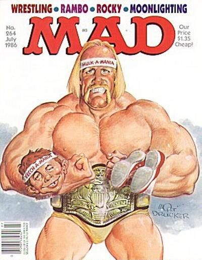 Cover for MAD (EC, 1952 series) #264