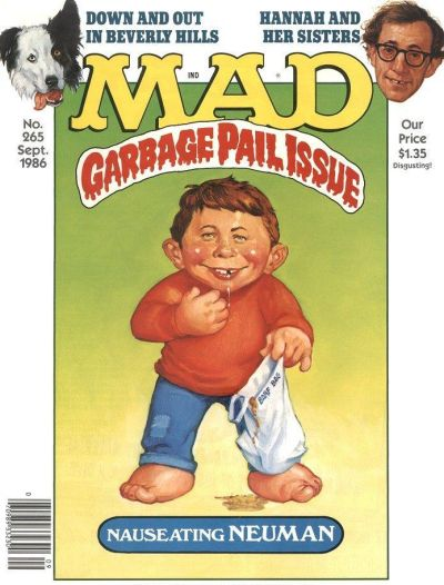 Cover for MAD (EC, 1952 series) #265