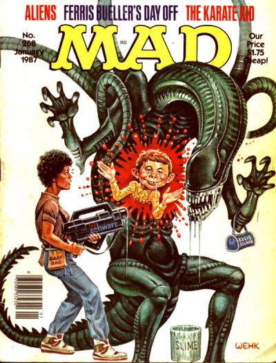 Cover for MAD (EC, 1952 series) #268