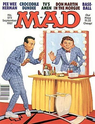 Cover for MAD (EC, 1952 series) #273
