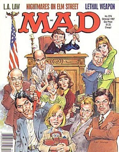 Cover for MAD (EC, 1952 series) #274