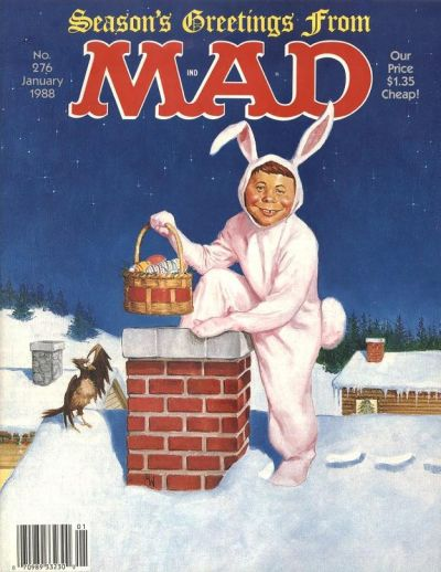 Cover for MAD (EC, 1952 series) #276
