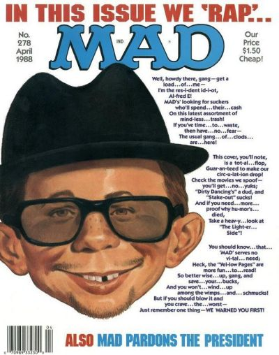 Cover for MAD (EC, 1952 series) #278