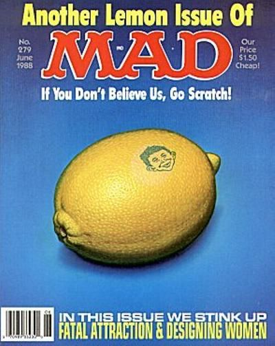 Cover for MAD (EC, 1952 series) #279