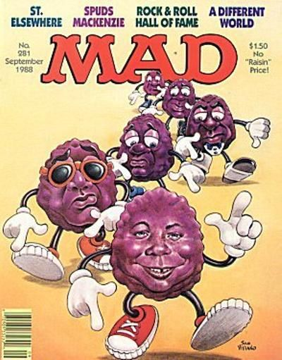 Cover for MAD (EC, 1952 series) #281