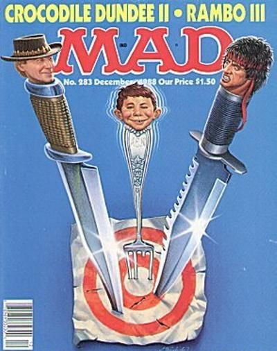 Cover for MAD (EC, 1952 series) #283