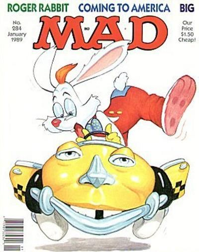 Cover for MAD (EC, 1952 series) #284