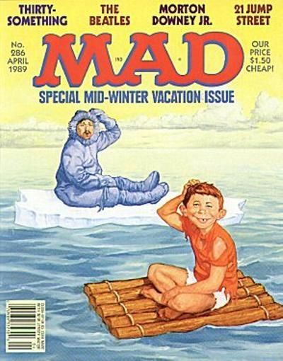 Cover for MAD (EC, 1952 series) #286