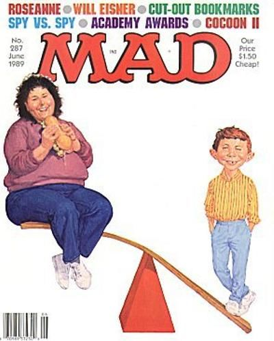 Cover for MAD (EC, 1952 series) #287