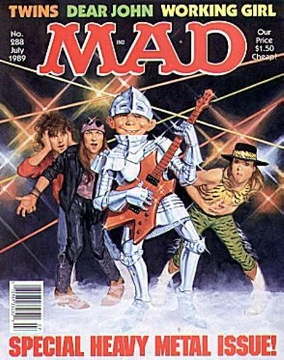 Cover for MAD (EC, 1952 series) #288