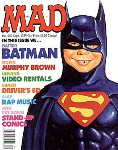 Cover for MAD (EC, 1952 series) #289