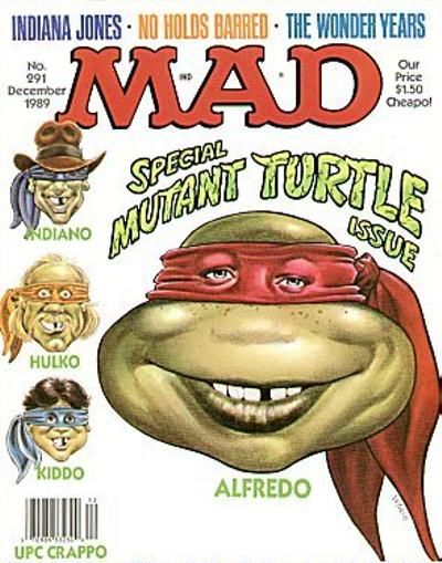 Cover for MAD (EC, 1952 series) #291