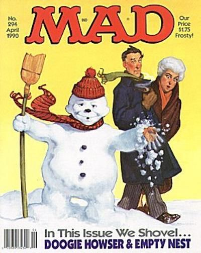 Cover for MAD (EC, 1952 series) #294