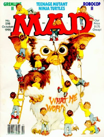 Cover for MAD (EC, 1952 series) #298