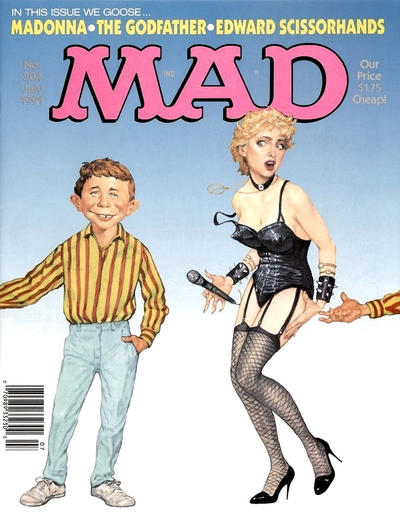 Cover for MAD (EC, 1952 series) #304