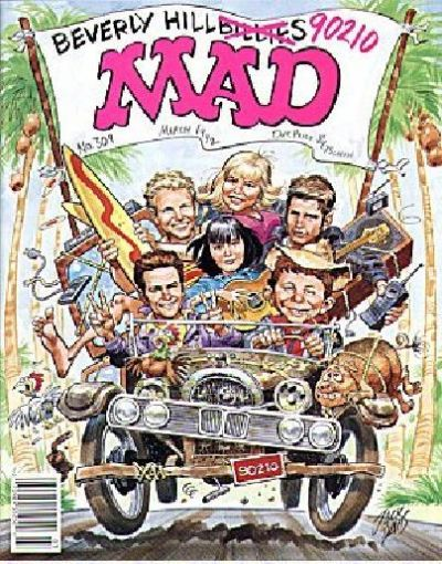 Cover for MAD (EC, 1952 series) #309