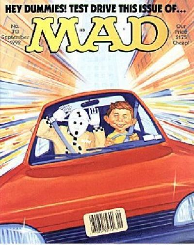 Cover for MAD (EC, 1952 series) #313