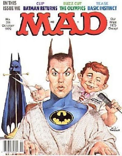 Cover for MAD (EC, 1952 series) #314