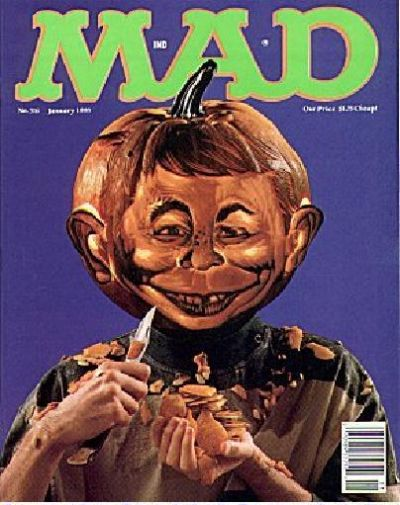 Cover for MAD (EC, 1952 series) #316