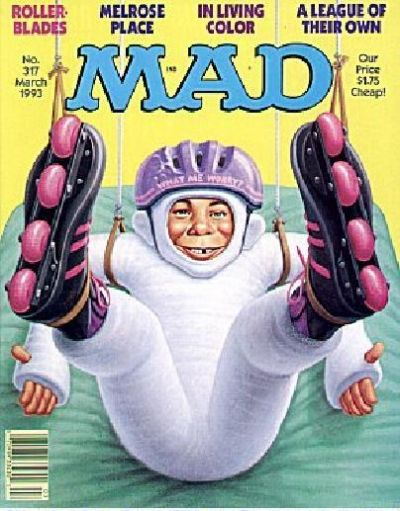 Cover for MAD (EC, 1952 series) #317