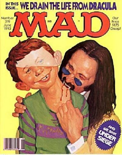 Cover for MAD (EC, 1952 series) #319