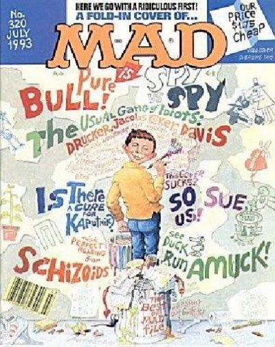 Cover for MAD (EC, 1952 series) #320