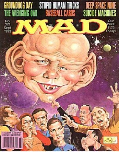 Cover for MAD (EC, 1952 series) #321