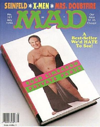 Cover for MAD (EC, 1952 series) #327