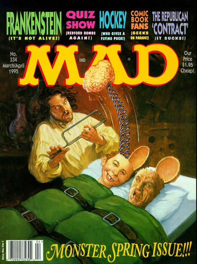 Cover for MAD (EC, 1952 series) #334
