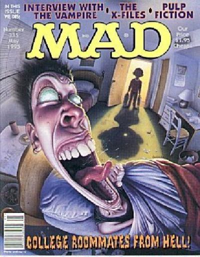 Cover for MAD (EC, 1952 series) #335