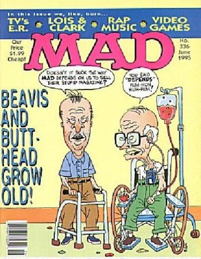 Cover for MAD (EC, 1952 series) #336