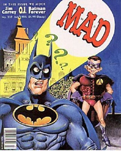 Cover for MAD (EC, 1952 series) #337