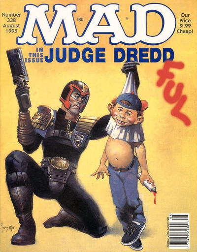 Cover for MAD (EC, 1952 series) #338