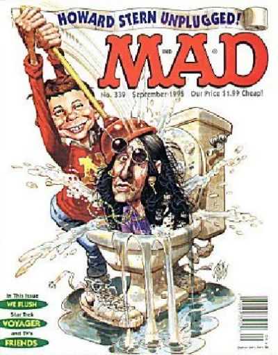 Cover for MAD (EC, 1952 series) #339
