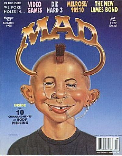 Cover for MAD (EC, 1952 series) #340